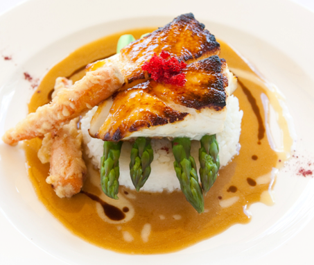 USS Nemo Miso Broiled Sea Bass is this Naples seafood restaurant's signature dish
