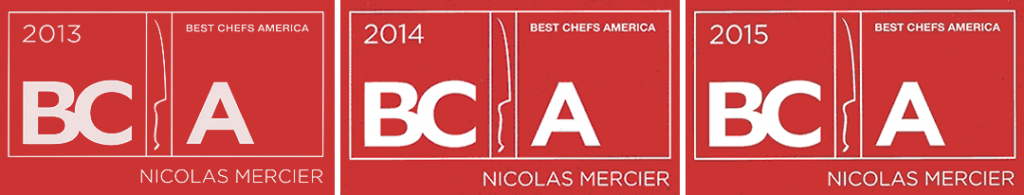 USS Nemo Restaurant in Naples FL's Chef Nicolas Mercier named to Best Chefs America 2013, 2014, 2015