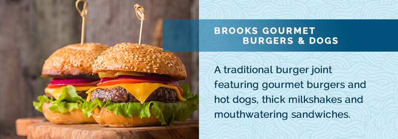 Brooks Burger best lunch spots in naples fl