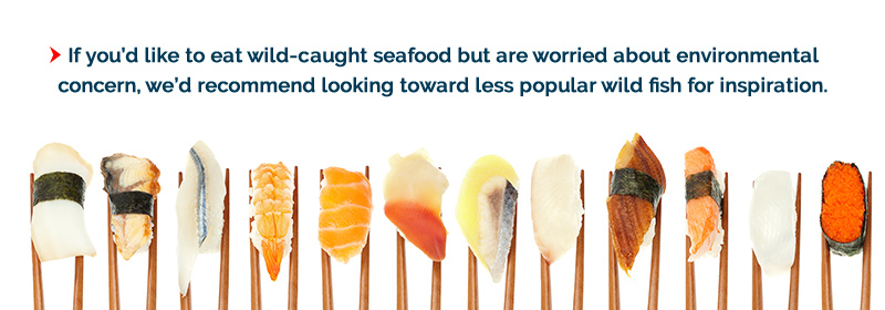 environmental concern from wild caught seafood
