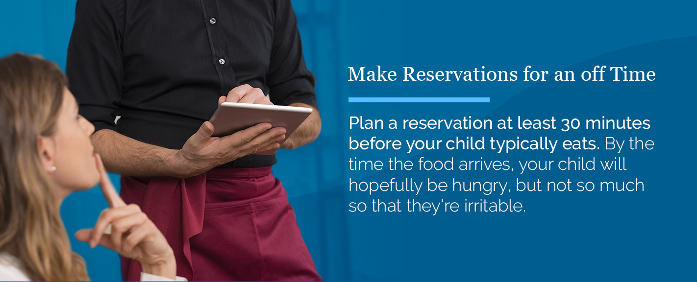 make reservation for off time graphic