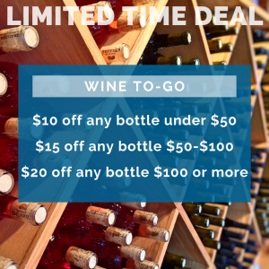 sale on wine at uss nemo in naples fl